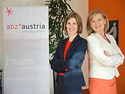 Vienna, Austria.<br /> abz*austria<br /> Executive Directors Daniela Schallert and Manuela Vollmann (white blazer).