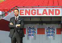 Football - 2016 / 2017 season - new England manager Gareth Southgate, first press conference<br /> <br /> England manager Gareth Southgate on the pitch at Wembley.<br /> <br /> COLORSPORT/ANDREW COWIE