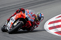 June 17, 2018 - Barcelona, Catalonia, Spain - The Spanish rider, Jorge Lorenzo of Ducati Team, during the Catalunya Motorcycle Grand Prix at Circuit de Catalunya on June 17, 2018 in Barcelona, Spain. (Credit Image: © Joan Cros/NurPhoto via ZUMA Press)