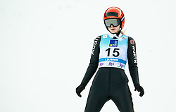 Pauline Hessler of Germany during 2nd Round at Day 1 of World Cup Ski Jumping Ladies Ljubno 2019, on February 8, 2019 in Ljubno ob Savinji, Slovenia. Photo by Matic Ritonja / Sportida