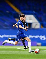 Football - 2019 / 2020 Premier League - Chelsea vs. Wolverhampton Wanderers<br /> <br /> Chelsea's Jorginho, at Stamford Bridge.<br /> <br /> COLORSPORT/ASHLEY WESTERN