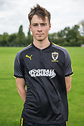 Jack Lane-Brownsword during the AFC Wimbledon Photocall 2017 at the Kings Sports Ground, New Malden, United Kingdom on 1 August 2017. Photo by Shane Healey.