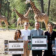 NLD/Arnhem/20180420 - Uitreiking Future for Nature prijs 2018,  prijswinnaars GERALDINE WERHAHN, Doutzen Kroes, Adam Miller, Saba Douglas - Hamilton en Trang Nguyen