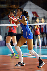 NADIA CENTONI<br /> ITALIA - AZERBAIJAN<br /> AMICHEVOLE NAZIONALE ITALIANA VOLLEY FEMMINILE<br /> FIRENZE 09-09-2015<br /> FOTO GALBIATI - RUBIN