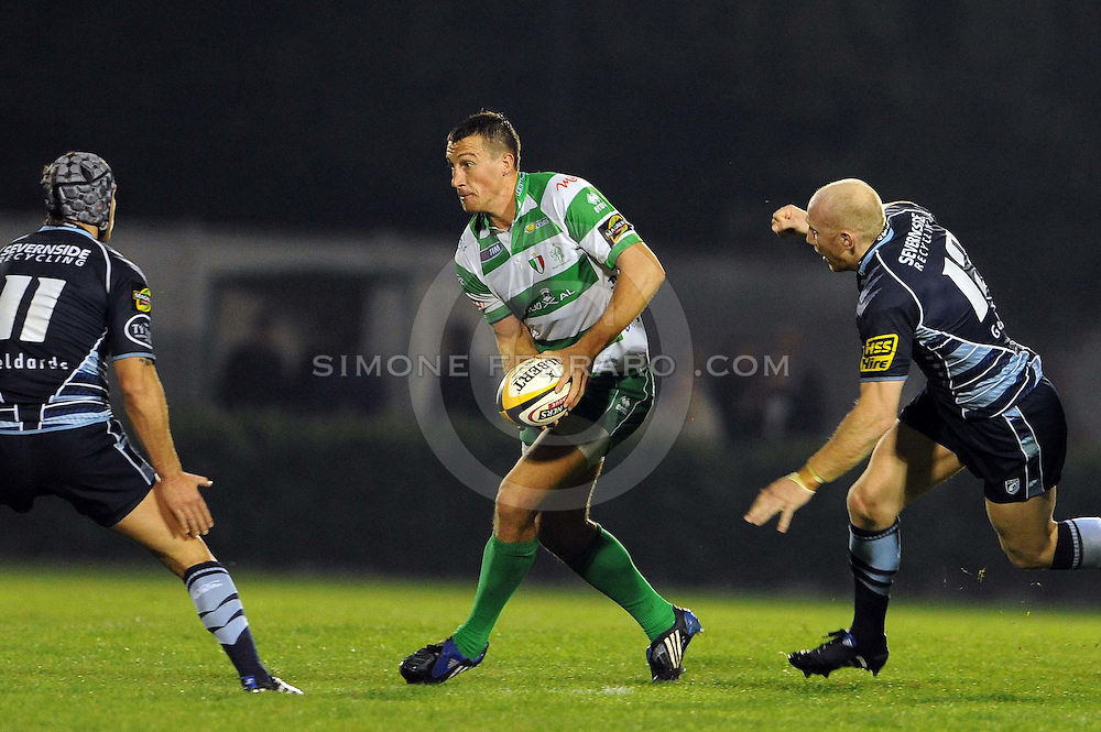 Magners League 24/09/2010.Benetton Treviso vs Cardiff Blues.Pictured: