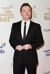 © Licensed to London News Pictures. 03/05/2015. London, UK. Stephen Mulhern arrives at the Midsummer Ball in Whitehall, London in aid of Together for Short Lives, the UK charity for seriously ill children. Photo credit : Vickie Flores/LNP