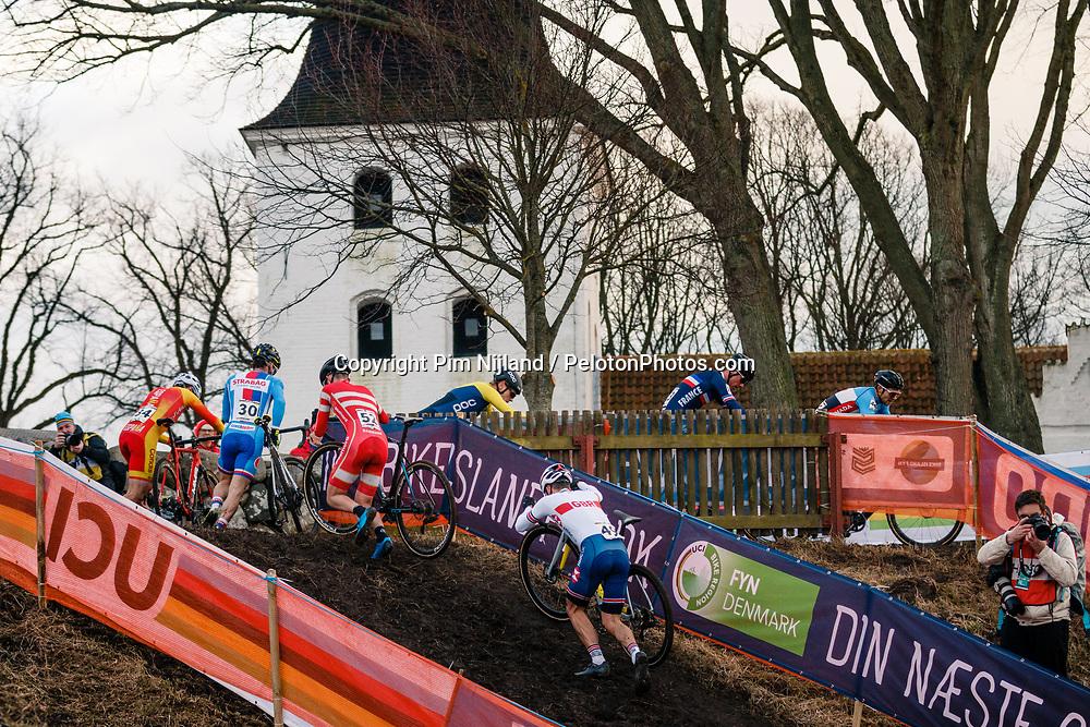2019 Men Elite UCI Cyclo-cross World Championships at Bogense, Denmark, 3 Februari 2019. Photo by Pim Nijland / PelotonPhotos.com   All photos usage must carry mandatory copyright credit (Peloton Photos   Pim Nijland)