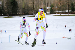 McKEEVER Brian Guide: CARLETON Erik, CAN at the 2014 IPC Nordic Skiing World Cup Finals - Middle Distance