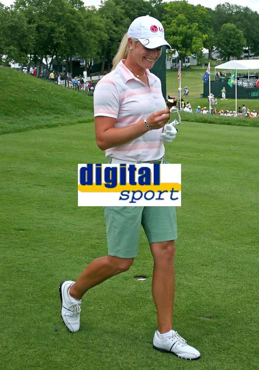 Golf<br /> Foto: imago/Digitalsport<br /> NORWAY ONLY<br /> <br /> 23.06.2008<br /> Suzann Pettersen (Norwegen) - <br /> <br /> LPGA Tour, Training, Practice Round Edina Golf Damen