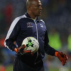 Arthur Bartman - Goalkeeper Coach of Maritzburg Utd during the 2016 Premier Soccer League match between Maritzburg Utd and SuperSport United held at the Harry Gwala Stadium in Pietermaritzburg, South Africa on the 21st September 2016<br /> <br /> Photo by:   Steve Haag / Real Time Images