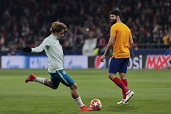 February 20, 2019 - Madrid, Madrid, Spain - Atletico de Madrid's Antoine Griezmann during UEFA Champions League match, Round of 16, 1st leg between Atletico de Madrid and Juventus at Wanda Metropolitano Stadium in Madrid, Spain. February 20, 2019. (Credit Image: © A. Ware/NurPhoto via ZUMA Press)