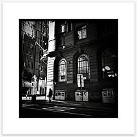 Castlereagh Street, Sydney CBD. From the Ephemeral Sydney street series.<br /> <br /> Instagram: @GirtBySeaMono
