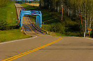 Photo Randy Vanderveen.West of Fort Vermilion, Alberta.The bridge over the Boyer River in northern Alberta.