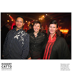 Lee-Jane Bennion Nixon at the Film Wellington 10th Anniversary Celebration at the Front Room, Wellington, New Zealand.<br />