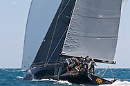 ITALY, Sardinia, Cagliari. 24th July 2011. AUDI MedCup. Region of Sardinia Trophy. TP52, RAN.