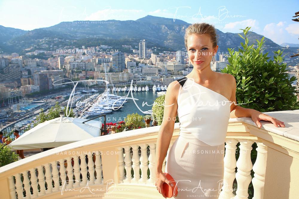MONTE-CARLO, MONACO - JUNE 09:  A.J. Cook aka Andrea Joy Cook attends a Cocktail Reception at the Ministere d'etat on June 9, 2014 in Monte-Carlo, Monaco.  (Photo by Pool Barson/FilmMagic)
