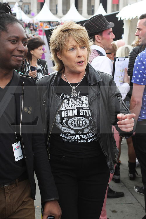 © Licensed to London News Pictures. 28/06/2014. London, UK Katrina Leskanich, Pride in London 2014, London UK, 28 June 2014. Photo credit : Brett D Cove/piQtured/LNP