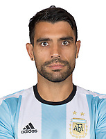 Conmebol - World Cup Fifa Russia 2018 Qualifier / <br /> Argentina National Team - Preview Set - <br /> Augusto Fernandez