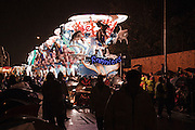 Photo of Guardians of the Deep, by Ramblers CC, runner-up at the 2010 Bridgwater Guy Fawkes Carnival.