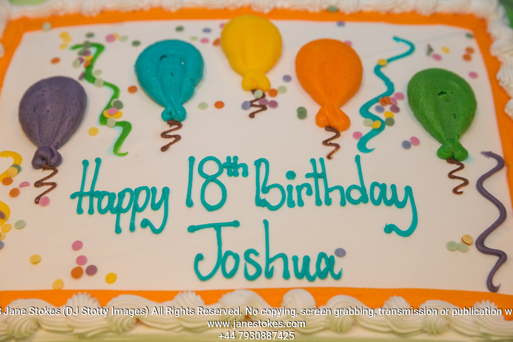 Joshua's 18th Birthday celebration on Sunday 21 January 2018 at his home. Photo by Jane Stokes (DJ Stotty Images)