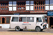 Ambulance in Bhutan.