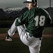 UVU baseball team portraits at the Brent Brown Park on the campus of Utah Valley University in Orem, Utah Thursday Nov. 7, 2013. August Miller)