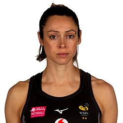 Hannah Knights of Wasps Netball - Mandatory by-line: Robbie Stephenson/JMP - 02/11/2019 - NETBALL - Ricoh Arena - Coventry, England - Wasps Netball Headshots