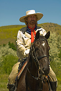 George Custer, 7th Cavalry, Custer's Last Stand Reenactment, Battle of the Little Bighorn, Crow Indian Reservation, Montana