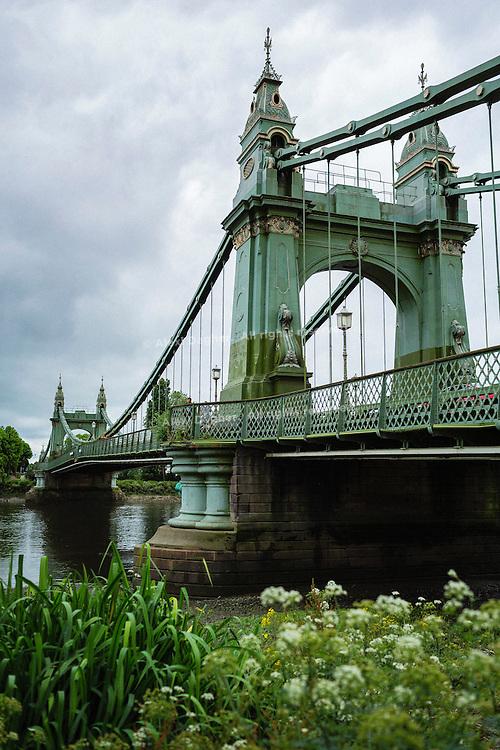 Hammersmith Bridge - London, England, 2016
