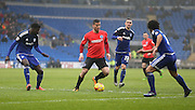 Tomer Hemed during the Sky Bet Championship match between Cardiff City and Brighton and Hove Albion at the Cardiff City Stadium, Cardiff, Wales on 20 February 2016.