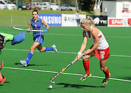 Gemma FLYNN during the BDO Womenís Championship Challenge match between New Zealand and Italy held at the Hartleyvale stadium in Cape Town, South Africa on the 14 October 2009