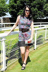 AMY MOLYNEAUX at the Investec Ladies Day at Epsom Racecourse, Surrey on 4th June 2010.