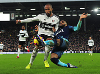 Football - 2018 / 2019 Premier League - Fulham vs. Tottenham Hotspur<br /> <br /> Denis Odoi of Fulham and Danny Rose of Spurs, at Craven Cottage.<br /> <br /> COLORSPORT/ANDREW COWIE