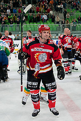 Ivo Jan after ice-hockey friendly match between legends of HDD Tilia Olimpija and HK Acroni Jesenice, on April 14, 2012 at SRC Stozice, Ljubljana, Slovenia. (Photo By Matic Klansek Velej / Sportida.com)