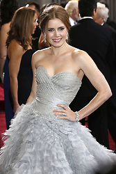 Amy Adams nominated best leading actress for the Oscars 2014.<br /> 85th Annual Academy Awards - Arrivals Amy Adams arrives at the Oscars at Hollywood & Highland Centre, Hollywood, California, February 24, 2013. Photo by Imago / i-Images...UK ONLY