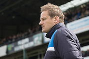 AFC Wimbledon Manager Neal Ardley during the Sky Bet League 2 match between Plymouth Argyle and AFC Wimbledon at Home Park, Plymouth, England on 9 April 2016. Photo by Stuart Butcher.