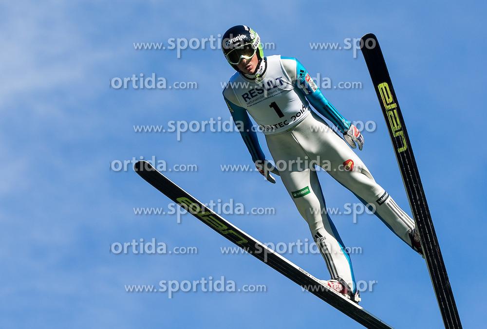 Jaka Hvala (SLO) during Ski jumping Summer cup - 45. Revija skokov Mostec on June 4, 2016 in Mostec hill, Ljubljana, Slovenia.Photo by Vid Ponikvar / Sportida