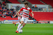 Doncaster Rovers forward John Marquis during the EFL Sky Bet League 1 match between Doncaster Rovers and Bradford City at the Keepmoat Stadium, Doncaster, England on 22 September 2018.