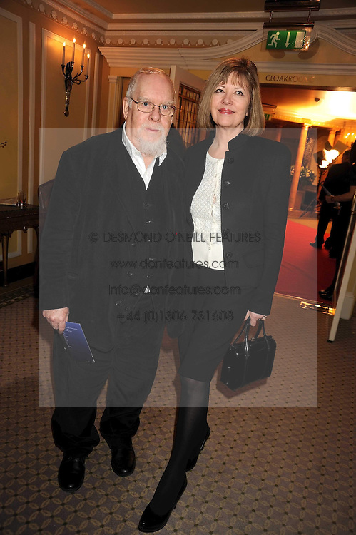 SIR PETER & LADY BLAKE at the 2009 South Bank Show Awards held at The Dorchester, Park Lane, London on 20th January 2009.
