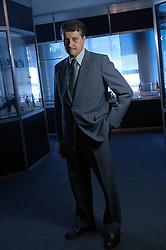 Diretor das Forjas TAURUS, Edair DeCanto, em seu escritório de Porto Alegre. FOTO: Jefferson Bernardes/Preview.com