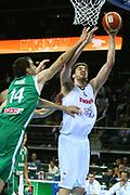 DESCRIZIONE : Kaunas Lithuania Lituania Eurobasket Men 2011 Quarter Final Round Spagna Slovenia Spain Slovenia<br /> GIOCATORE : Pau Gasol<br /> CATEGORIA : tiro penetrazione<br /> SQUADRA : Spagna Spain <br /> EVENTO : Eurobasket Men 2011<br /> GARA : Spagna Slovenia Spain Slovenia<br /> DATA : 14/09/2011<br /> SPORT : Pallacanestro <br /> AUTORE : Agenzia Ciamillo-Castoria/G.Matthaios<br /> Galleria : Eurobasket Men 2011<br /> Fotonotizia : Kaunas Lithuania Lituania Eurobasket Men 2011 Quarter Final Round Spagna Slovenia Spain Slovenia<br /> Predefinita :
