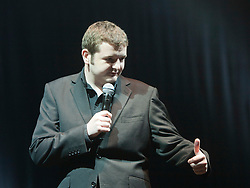 Scottish stand-up comedian Kevin Bridges playing on the Clash tent..Rockness, Sunday 13th June..Pic ©2010 Michael Schofield. All Rights Reserved.