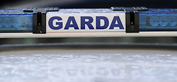 A stock picture of the Garda badge logo. PRESS ASSOCIATION Photo. Picture date: Wednesday January 16, 2019. Photo credit should read: Niall Carson/PA Wire