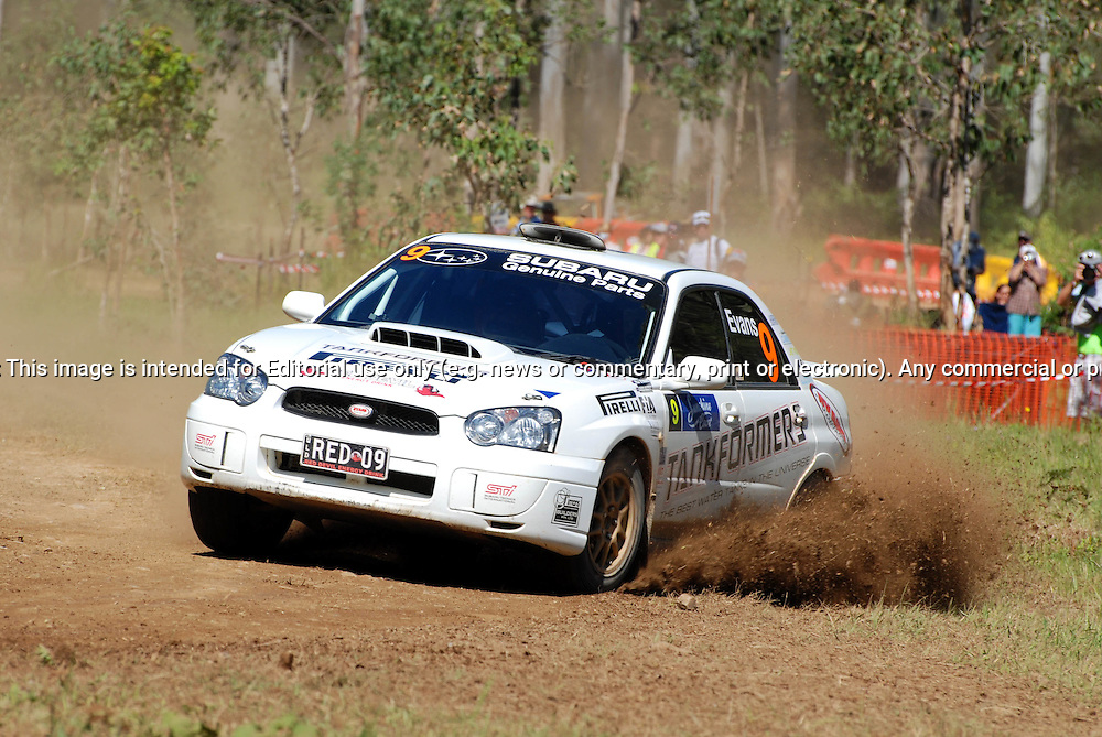 Heat 1.Red Devil Energy Drink Rally of Queensland.Sunshine Coast, QLD.10th of May 2009.(C) Sarah Biggin.Use information: This image is intended for Editorial use only (e.g. news or commentary, print or electronic). Any commercial or promotional use requires additional clearance.