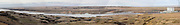 South Dakota SD USA, Panoramic view of the Oahe dam on the Missouri river near Pierre,