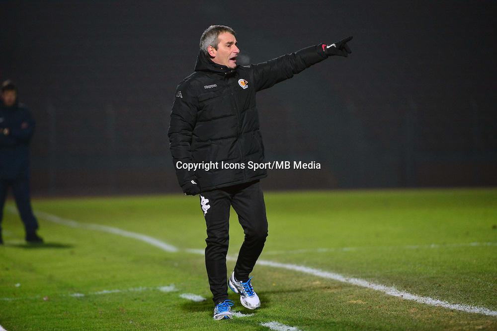 Denis ZANKO - 23.01.2015 - Creteil / Laval - 21eme journee de Ligue 2<br /> Photo : Dave Winter / Icon Sport