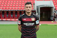 German Bundesliga - Season 2016/17 - Photocall Bayer 04 Leverkusen on 25 July 2016 in Leverkusen, Germany: Charles Aranguiz. Photo: Guido Kirchner/dpa | usage worldwide