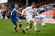 Wycombe midfielder Nick Freeman (22) goes past Peterborough Utd midfielder Joe Ward (15) during the EFL Sky Bet League 1 match between Peterborough United and Wycombe Wanderers at London Road, Peterborough, England on 2 March 2019.