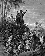 Dore 'John The Baptist Preaching in the Wilderness'