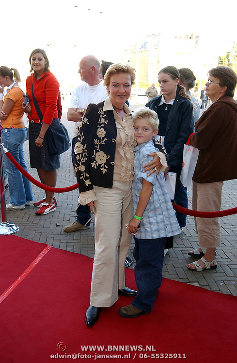 Sound of Music, Marisca van Kolck en zoon Christopher